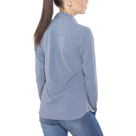 Salewa Puez Mini Check Dry L/S Shirt Women M mini check dark de